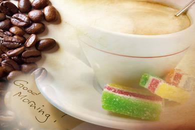 Кофе и мармелад