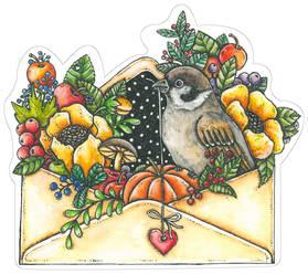Осень в конверте