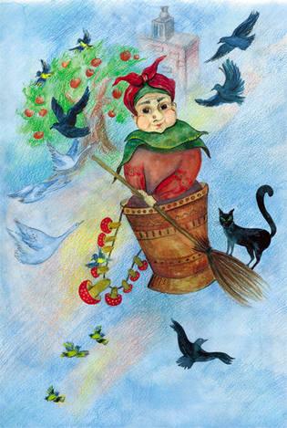 Баба-Яга. Мир русских сказок
