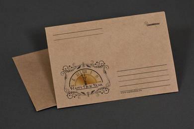 Крафт-конверт «Happy new Year»